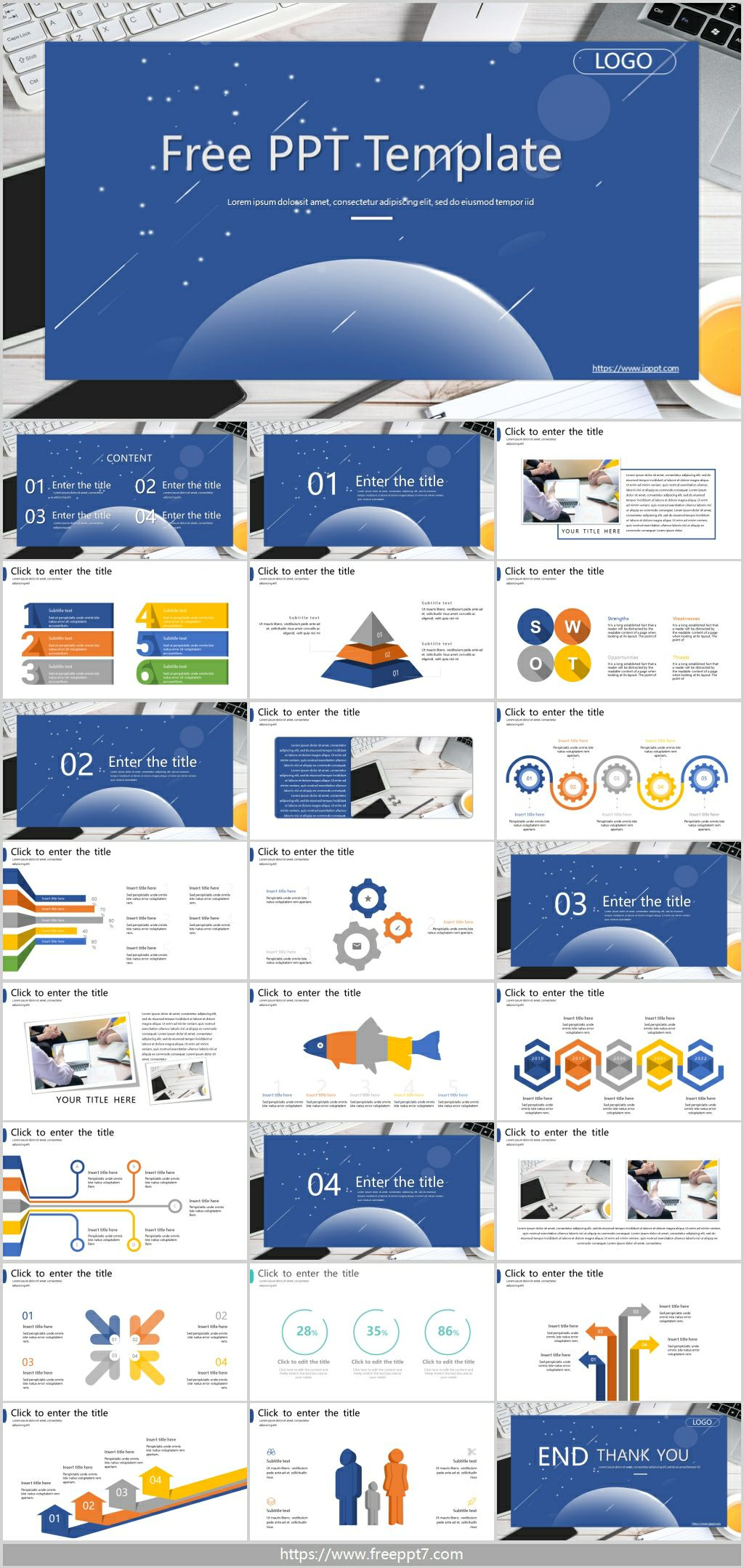 Business Office PowerPoint Templates