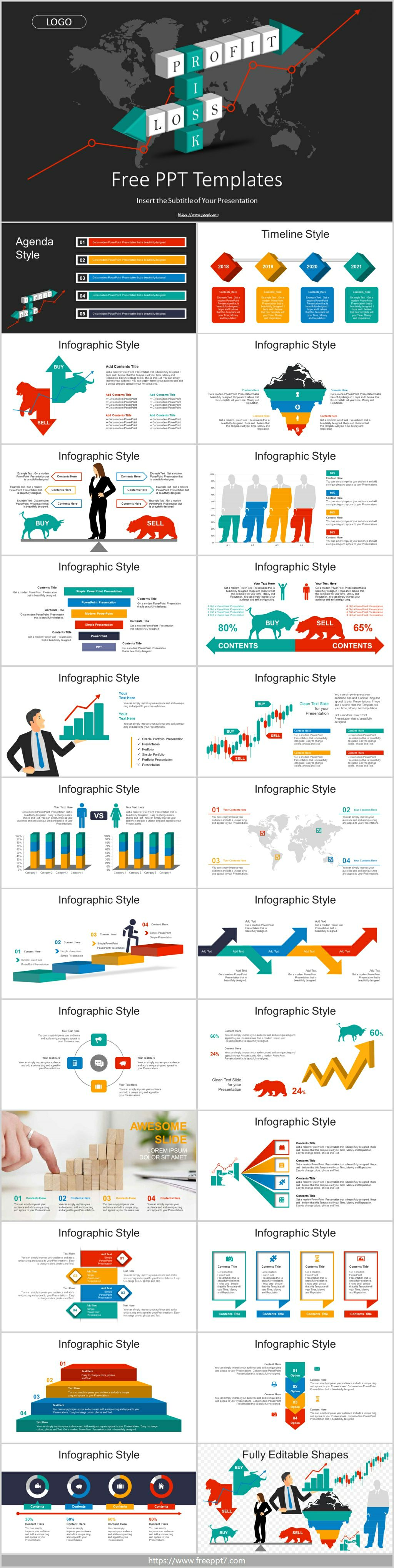 Investment Management PowerPoint Templates